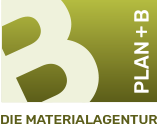 Plan +B Materialagentur Logo